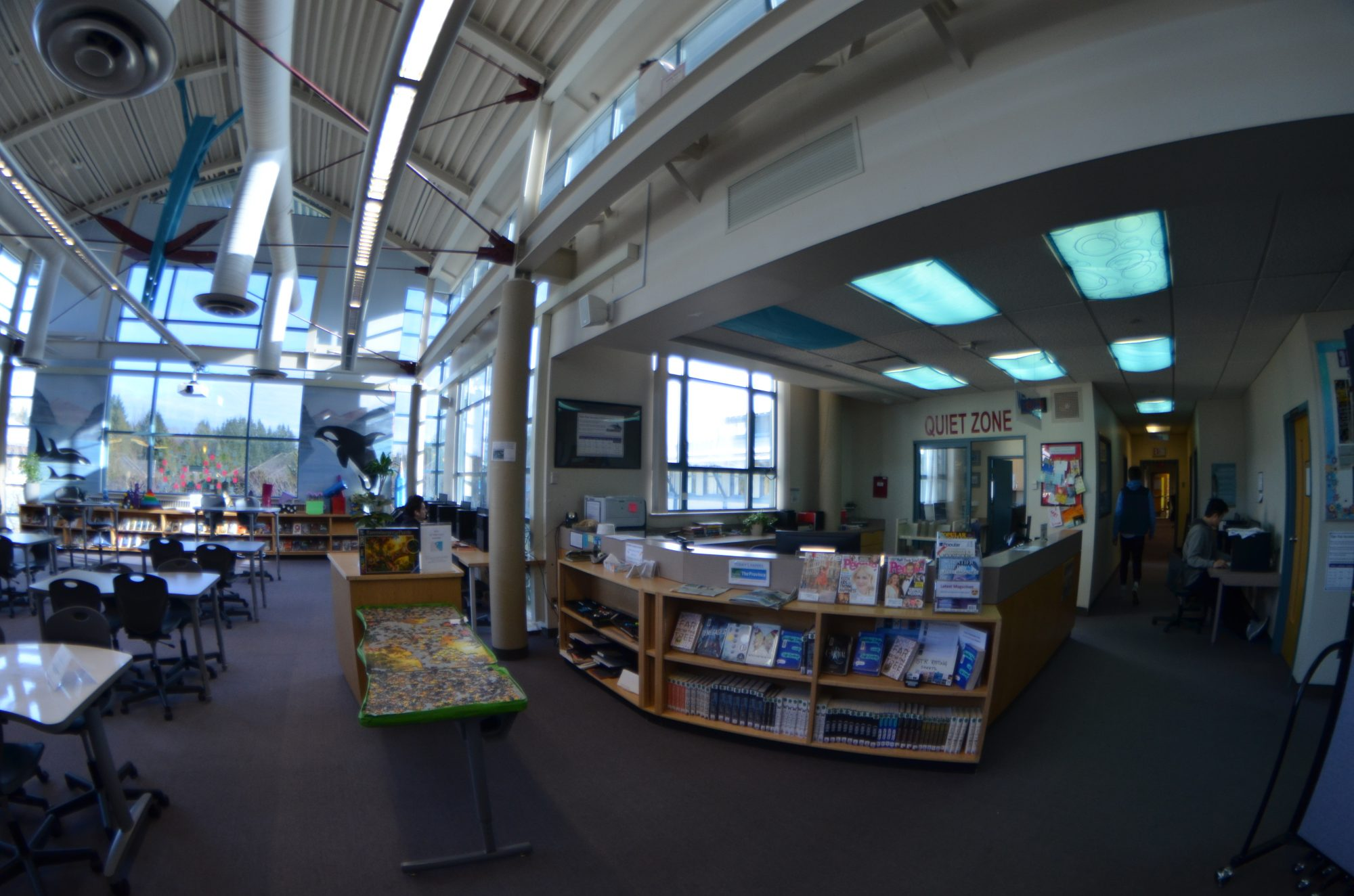 The Learning Commons @ElginParkSecondary